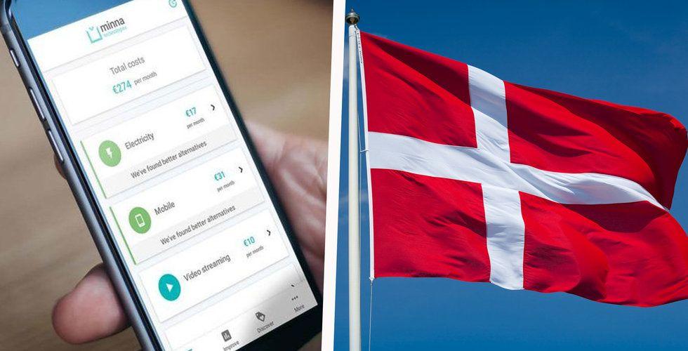 Danske bank tar in svenska startupen i sin danska app