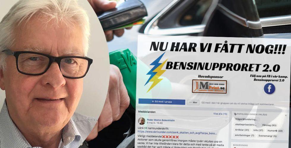 Bensinupproret 2.0 blev Sveriges största Facebook-grupp – på en månad
