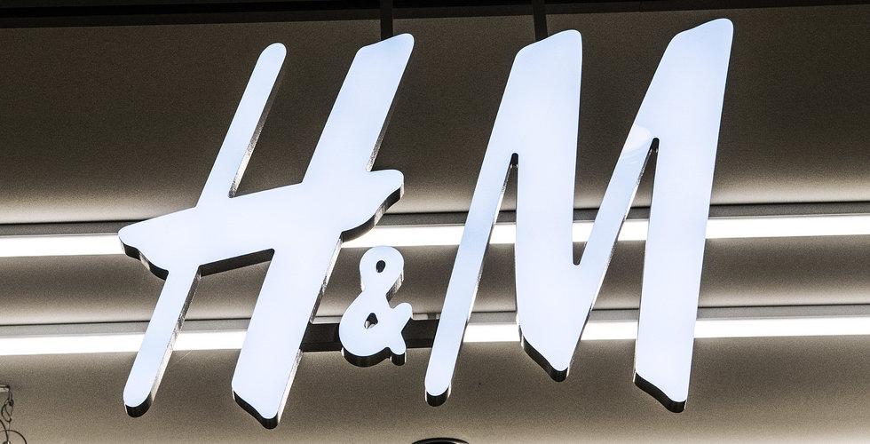 """H&M testar app som låter kunder """"prova"""" plagg"""