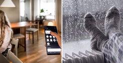 """När allt styrs i en app: """"Med uppkopplade element kan vi använda sommarstugan betydligt mer"""""""