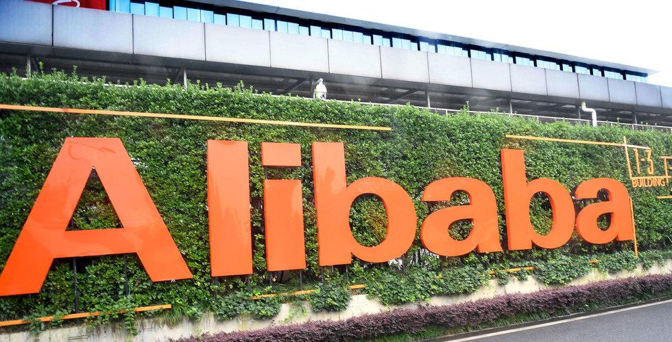 Breakit - Alibaba kan bli först att få ett marknadsvärde på 1 biljon dollar