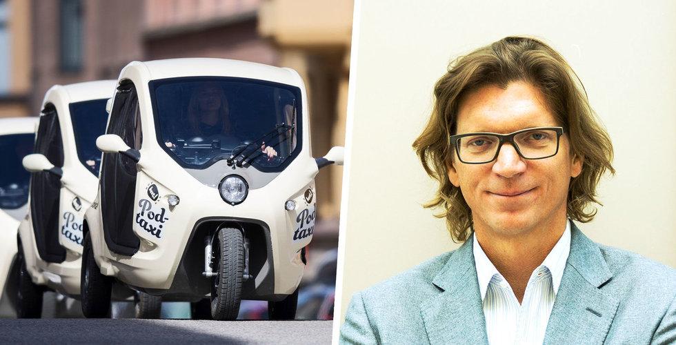 Niklas Zennströms Clean Motion ska bygga en självkörande elmoppe