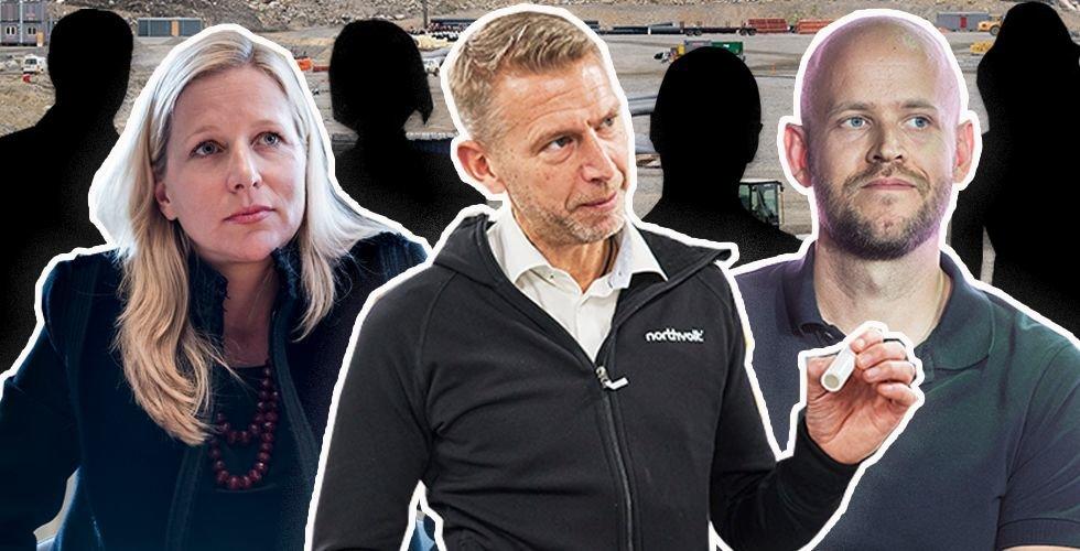 Unik lista: Northvolts hemliga ägare – namn för namn (doldisarna, miljardärerna, jättarna)