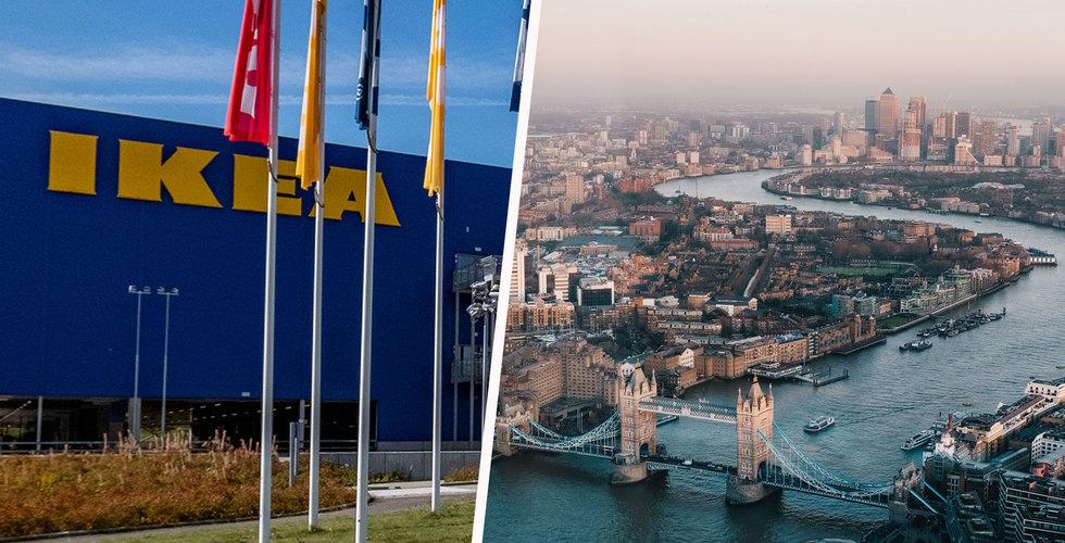 Ikeas nya drag – köper galleria i London