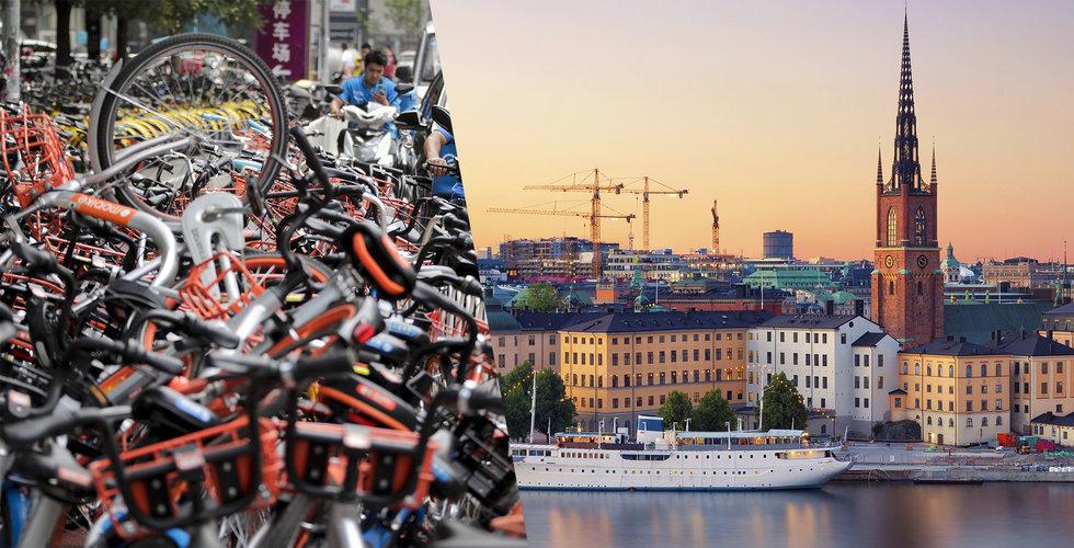"""Staden väntar stor cykelinvasion. """"Om alla kommer blir stan överbelamrad"""""""