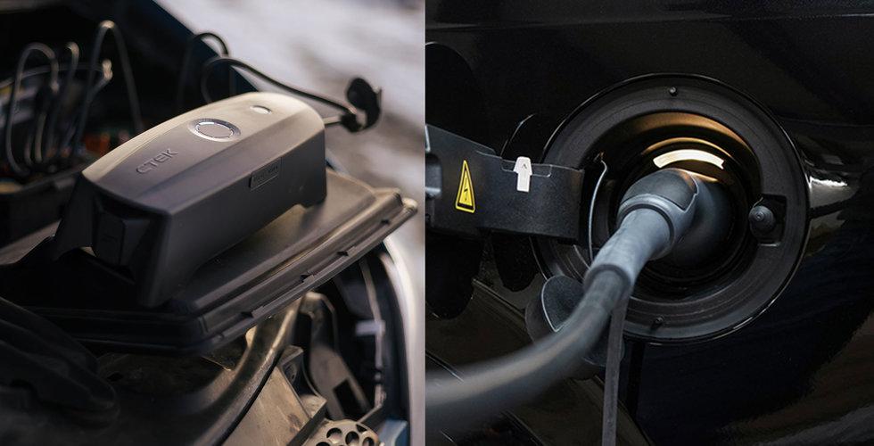 Batteriladdningsspecialisten Ctek går till börsen – Latour blir storägare