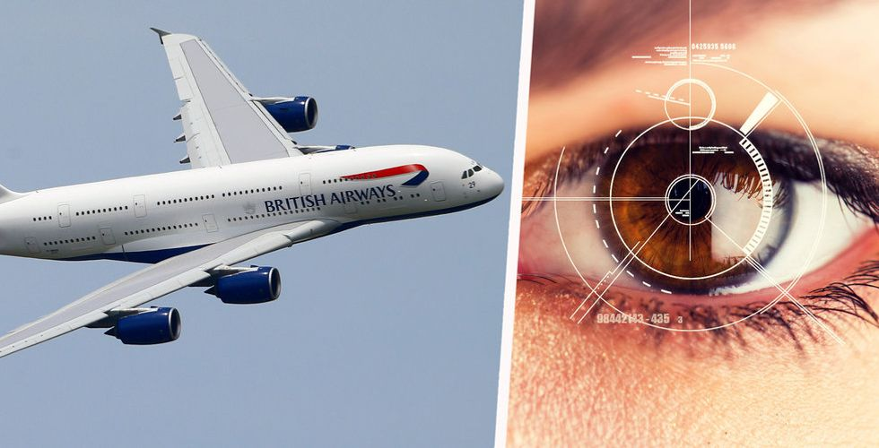 Data från ögonkameror ska ersätta pass och boardingkort vid flygplatser