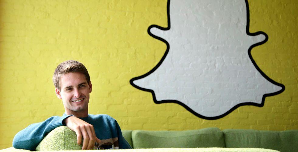 Snapchat tar in 1,5 miljarder kronor - men värderingen står still