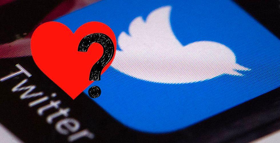 Twitter kan slopa gilla-knappen