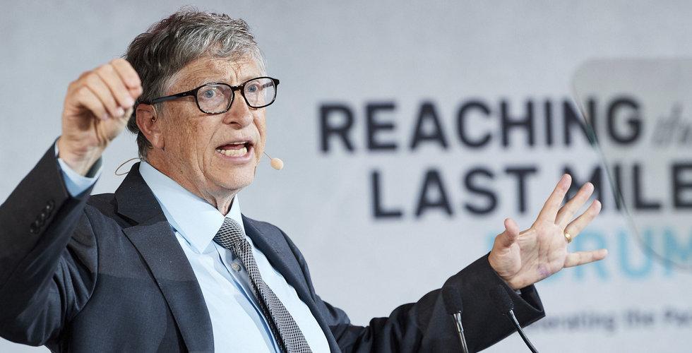 Bill Gates vill investera 2 miljarder dollar för att avvärja klimatförändringar