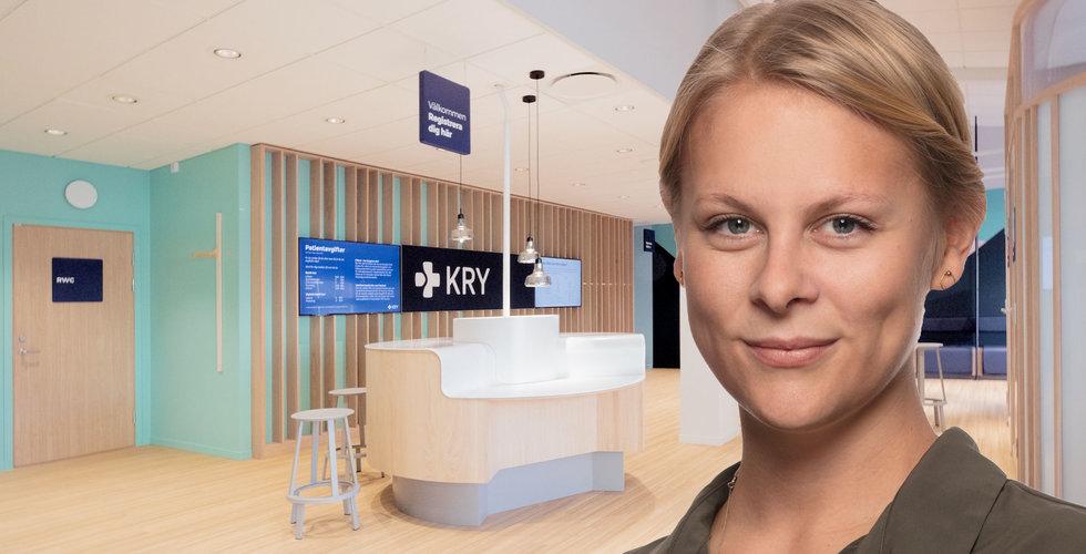 """Därför bygger nätläkaren Kry fysiska vårdcentraler: """"Vi har tagit steg ett"""""""