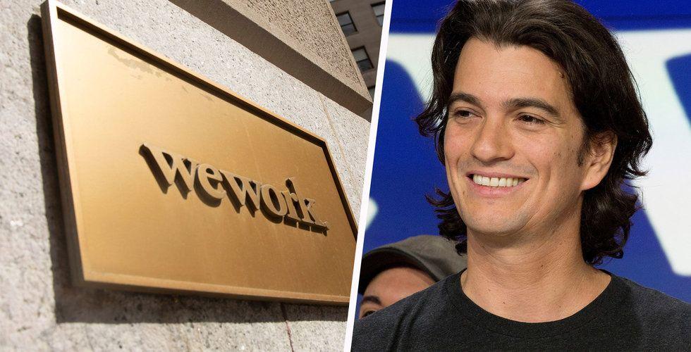Adam Neumann lämnar Weworks styrelse