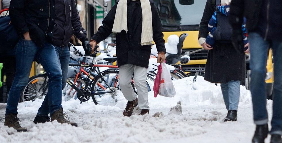 Breakit - Snöovädret sålde skor – men e-handeln sänkte klädförsäljningen