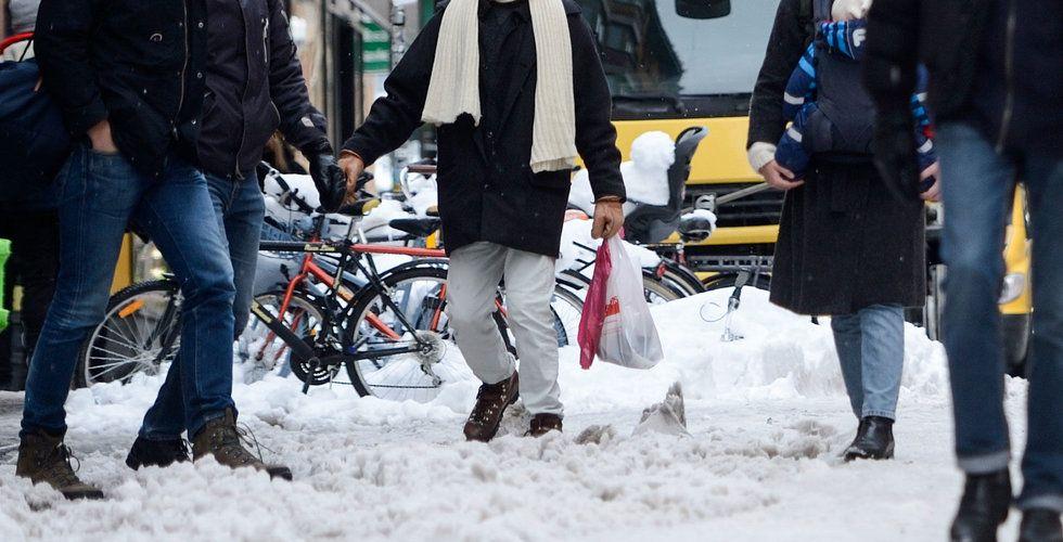 Snöovädret sålde skor – men e-handeln sänkte klädförsäljningen
