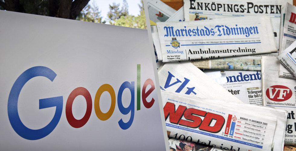 Breakit - Din lokaltidning får en ny otippad konkurrent: Google