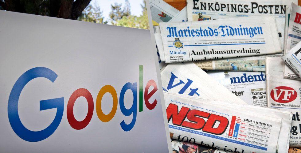 Din lokaltidning får en ny otippad konkurrent: Google