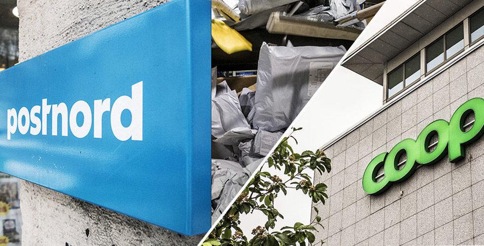 Postnord och Coop tecknar nytt avtal för paketutlämning