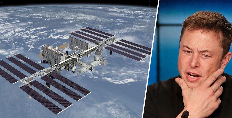 Breakit - Elon Musk satsar på bredband från rymden – backas av amerikanska myndigheter