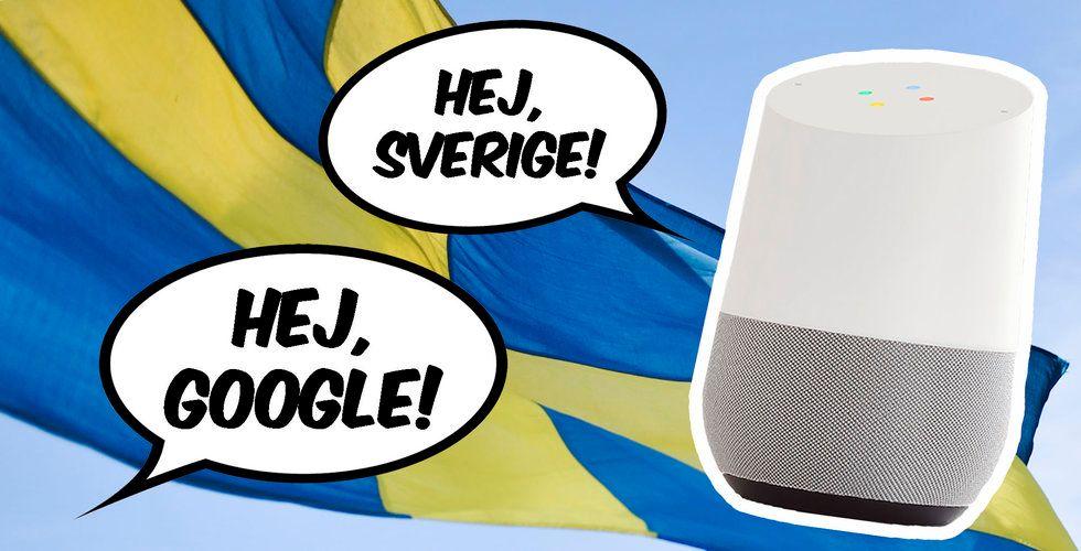 När kommer Google Home till Sverige? Vi har svaret