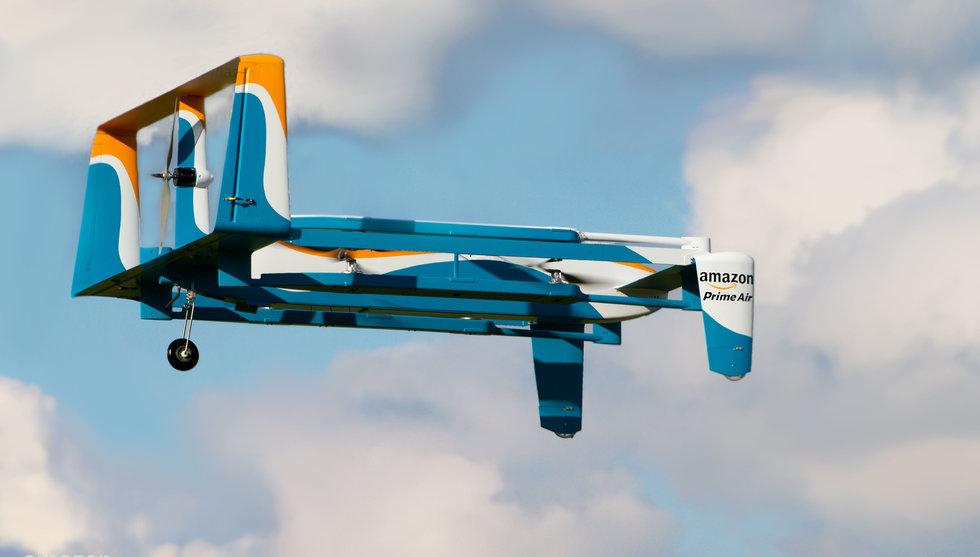 Breakit - Så ser Amazons drönare ut - ska leverera paket på mindre än en timme