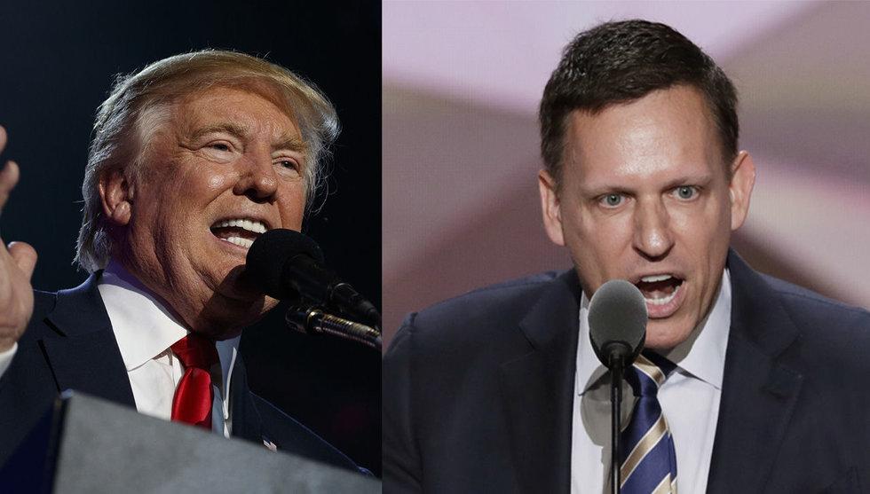 Breakit - Efter sexskandalen – Peter Thiel öppnar plånboken för Trump