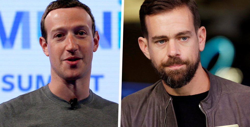 Facebook och Twitter riskerar miljardböter efter utredning på Irland