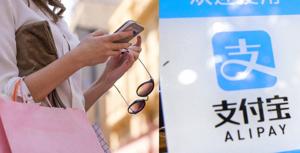 """Breakit - Alibabas betaltjänst rullas ut stort i Sverige: """"Kineser är storshoppare"""""""