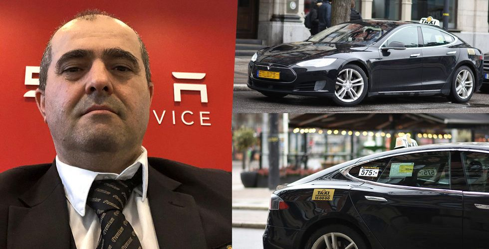 """Har hans Tesla rullat längst i Sverige? """"Kört över 100.000 mil om tre år"""""""