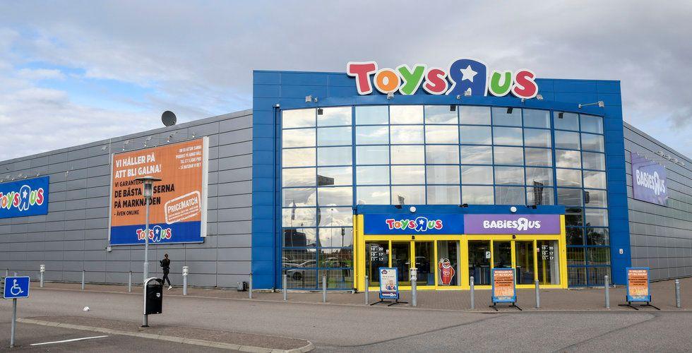 Amazon intresserade av Toys R Us-butiker