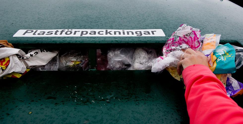 Regeringen: Förbjud mer plast