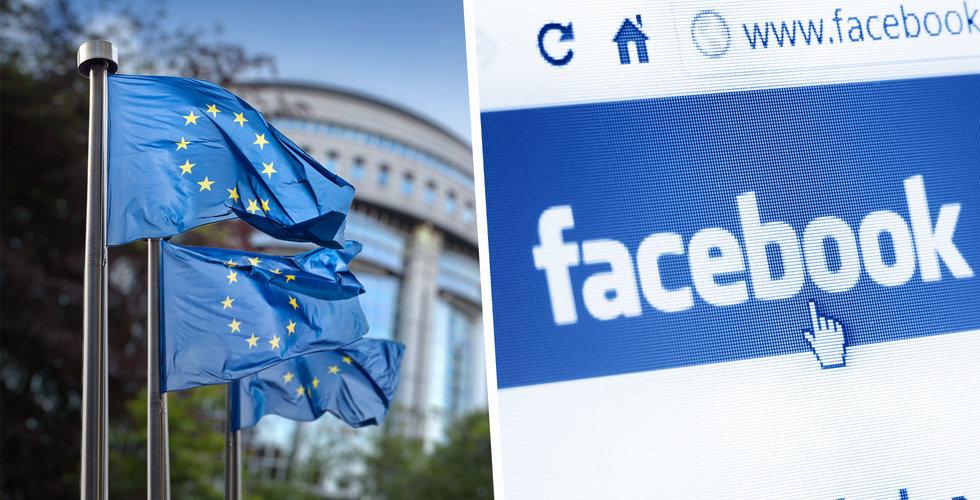Facebook böjer sig för EU – ändrar villkor kring användardata