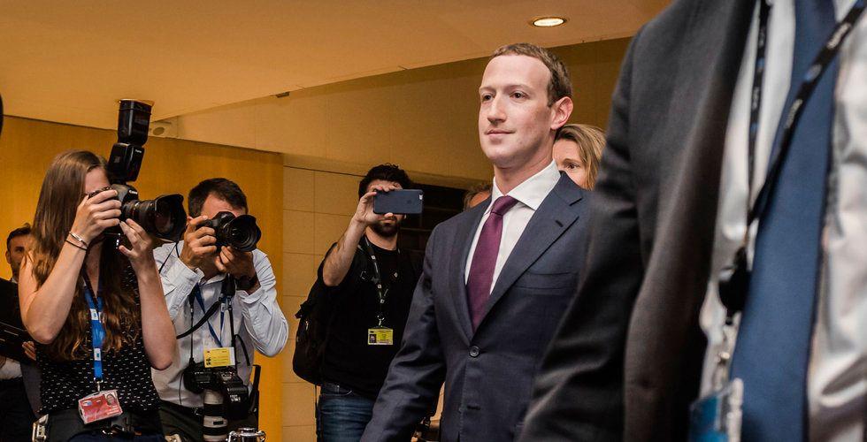 Facebooks grundare Mark Zuckerberg kom lindrigt undan i EU-förhör