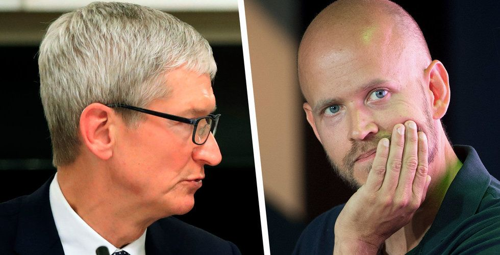 Apple utmanar Spotify om poddlyssnarna