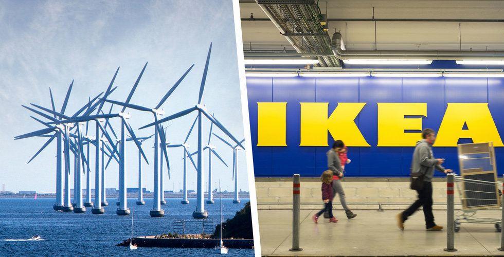 Ikea vill bli mer hållbart –satsar över 2 miljarder på vindkraft
