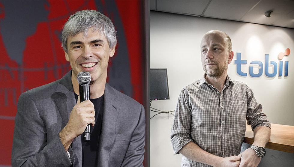 Tobii får tung konkurrent - Google köper ögonstyrningsbolag