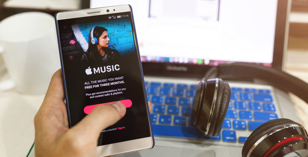 Apple filar på plan för att spela musik mot verksamheter