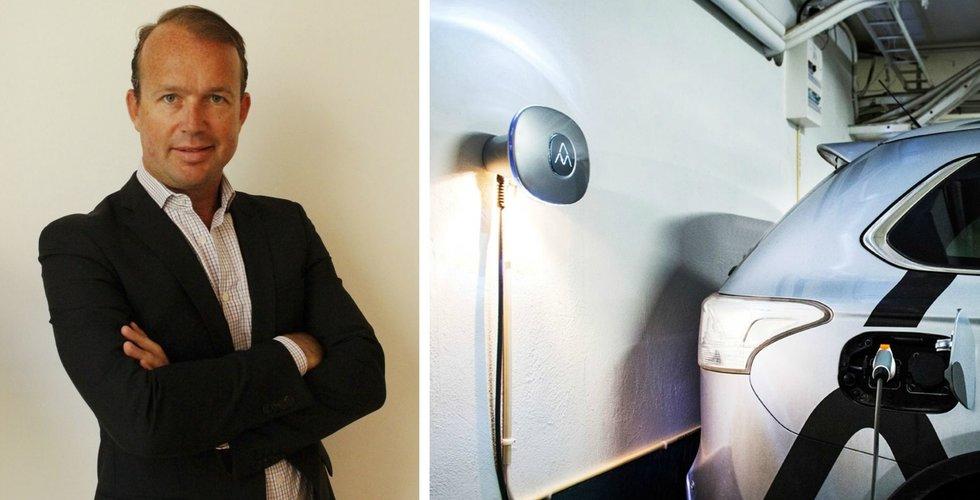 Efter Fundedbyme - nu blir Pontus Frohde vd på Charge Amps
