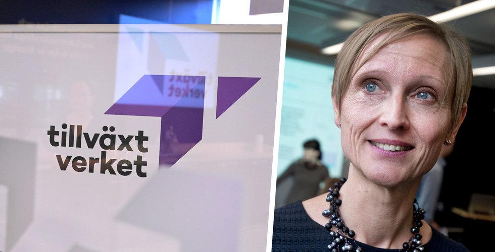 Tillväxtverkets nya besked: Inga stöd till bolag som gör aktieutdelningar