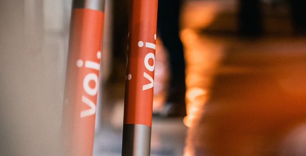 Brand på Vois kontor – el-sparkcykel började plötsligt brinna