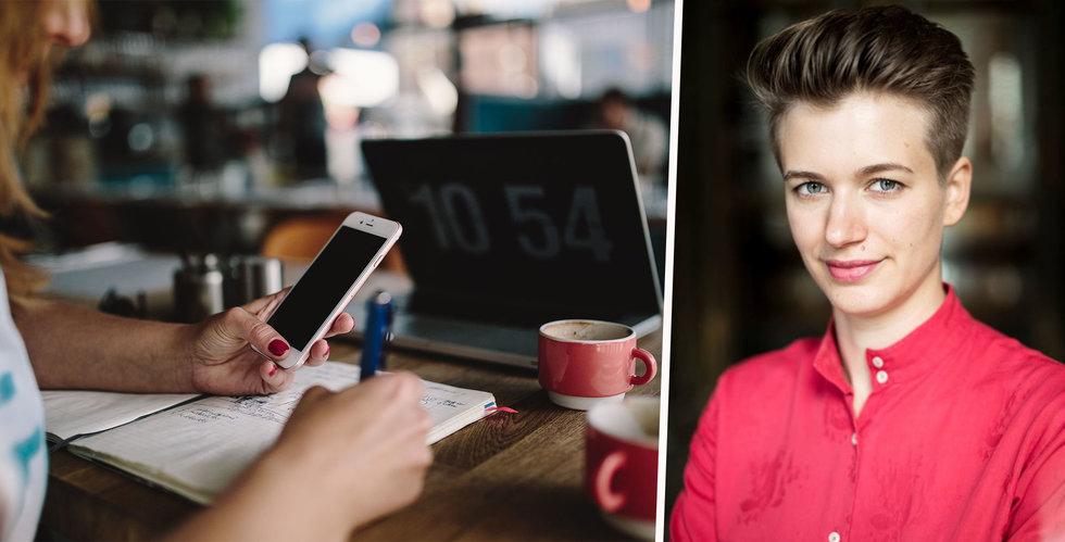 """Psykologen Siri Helle: """"Skärmar kan stärka vårt välbefinnande"""""""