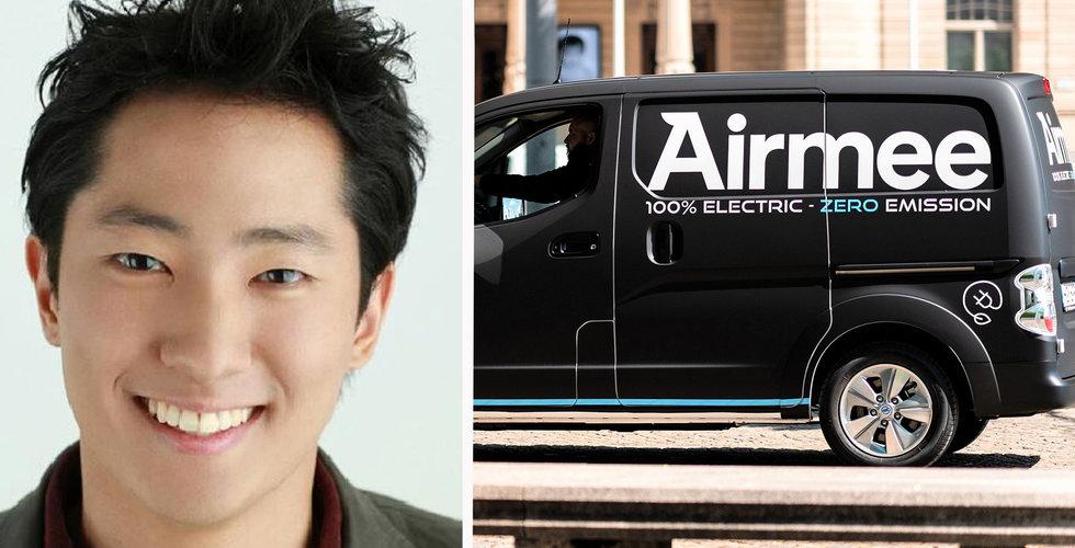 Airmee tar in 50 miljoner kronor – Izettle-grundarna satsar på budbolaget