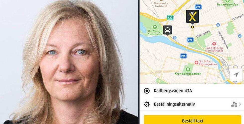 Carina Asmussen ska erövra Stockholm åt Daimler-ägda Mytaxi