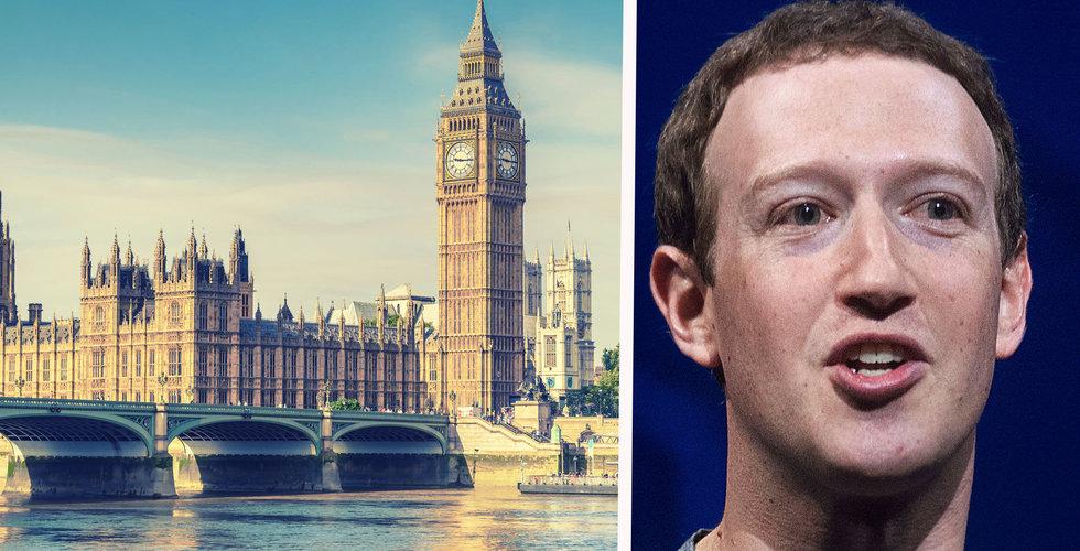 Zuckerberg nobbar Storbritannien – skickar två av Facebooks toppchefer i stället