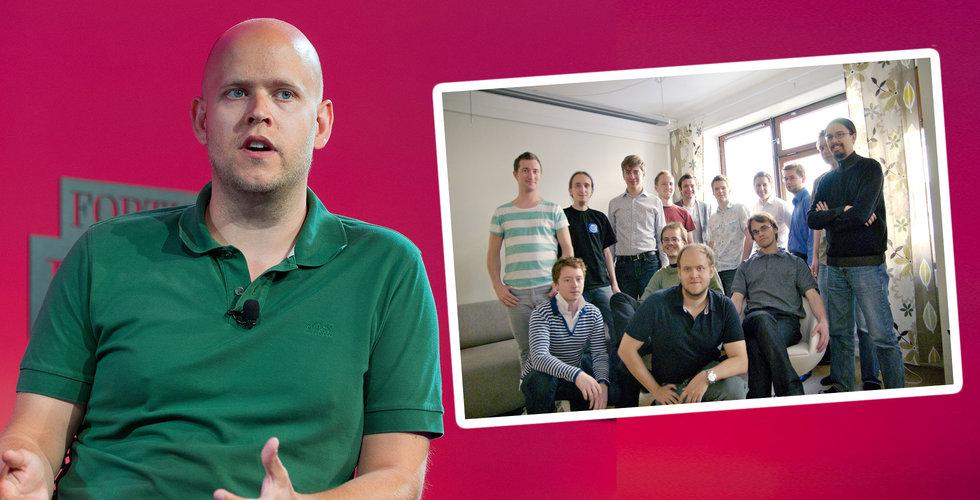 """Här är de okända hjärnorna som skapade Spotify: """"Dream team"""""""