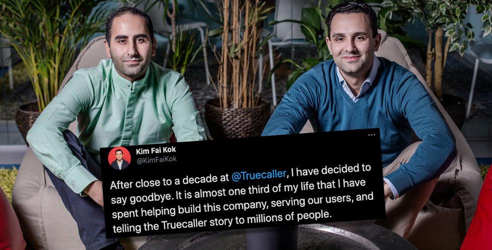 """Truecaller-chefen lämnar bolaget efter 10 år: """"Beslutat att säga hejdå"""""""