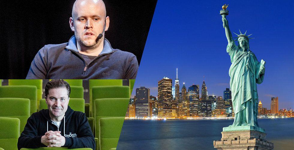 Efter hotet om att lämna Sverige – nu skapar Spotify 1000 nya jobb i New York