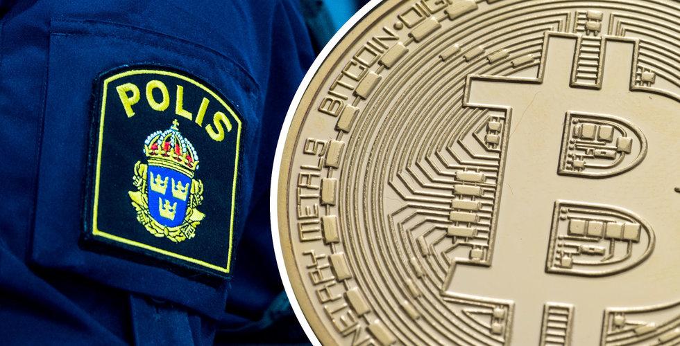 Polisen: Hundratals svenskar blåsta av bitcoinbluffarna
