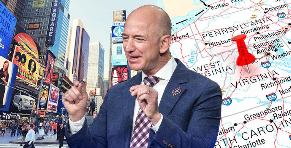 Här är städerna som får dela på Amazons huvudkontor