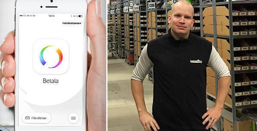 """E-handlaren Joel Svensson: """"Det är ett väldigt tråkigt besked"""""""