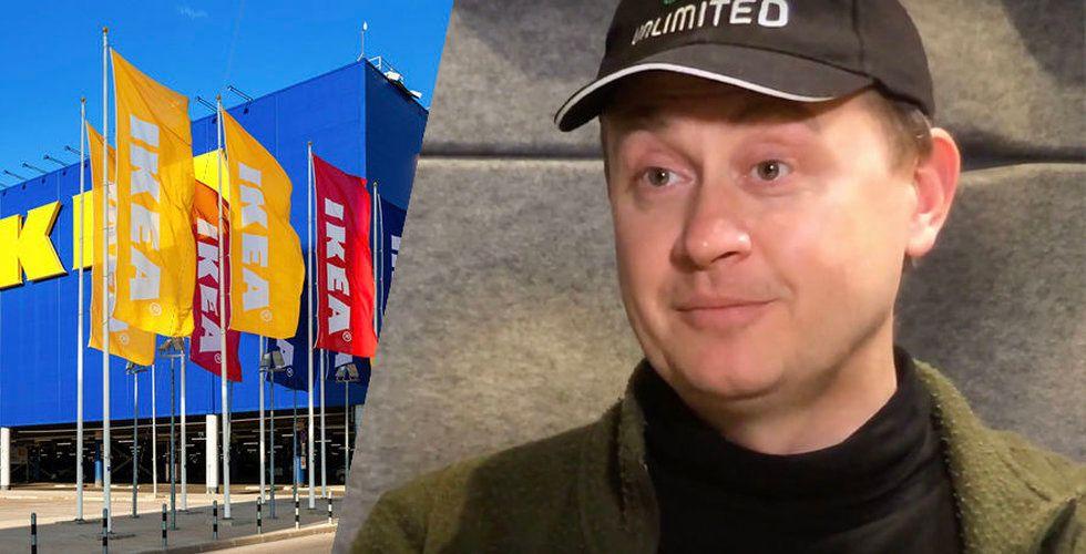 """Framfab-grundaren Jonas Birgersson: """"Ikea kunde ha varit Amazon"""""""